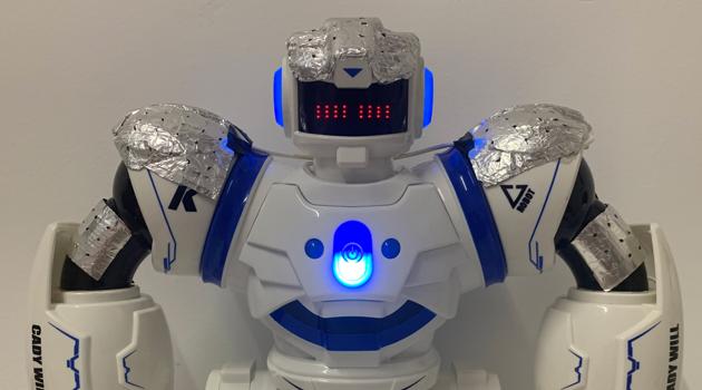mászó kereskedő robot