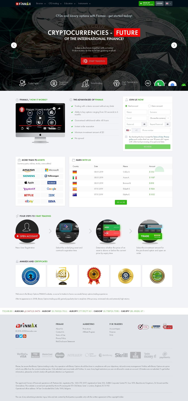 finmax kereskedési platform add hozzá trendvonalakat