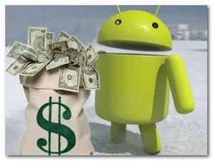 hogyan lehet pénzt keresni az internet androidon