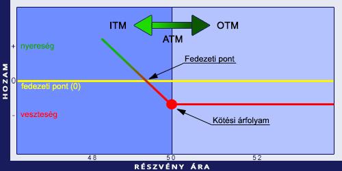 opció modell