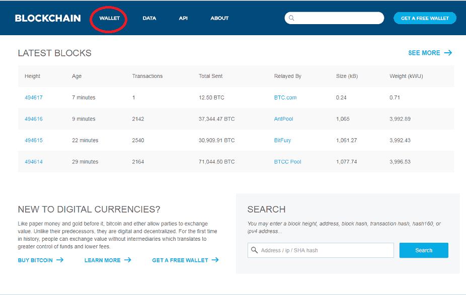 Bitcoin wallet, bitcoin pénztárca