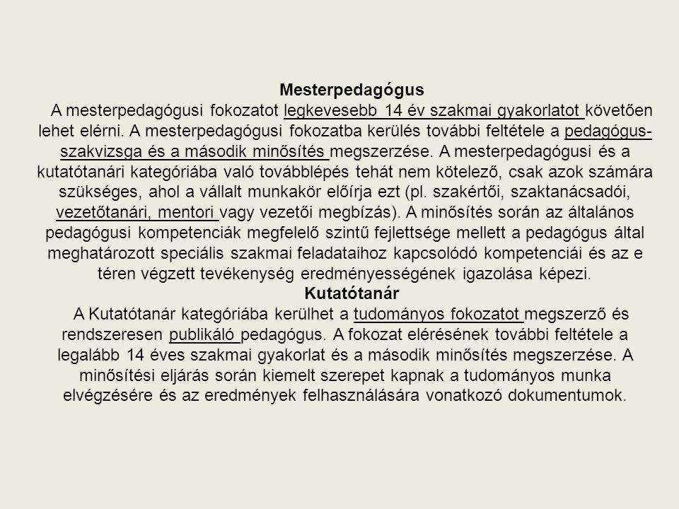 minősítési stratégiák lehetőségei)