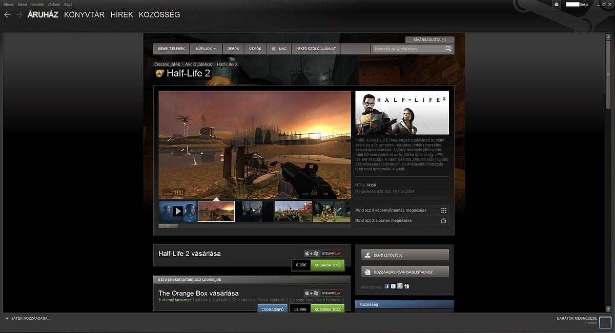 bevétel az interneten a Steamen keresztül történő visszavonáskor