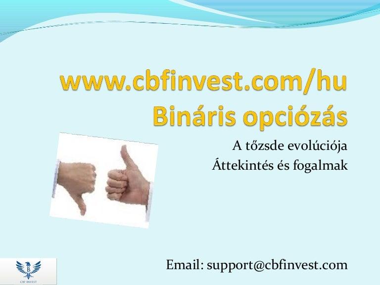 Bináris opció webinárium