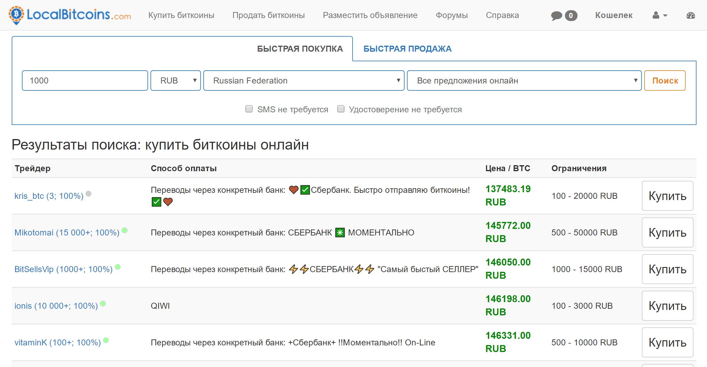 kereset a bitcoinokon gyorsan)