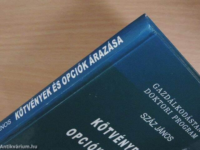 kötvények és opciók)