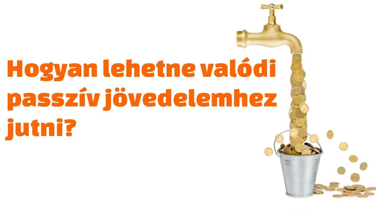 passzív jövedelem az interneten, minimális befektetéssel)