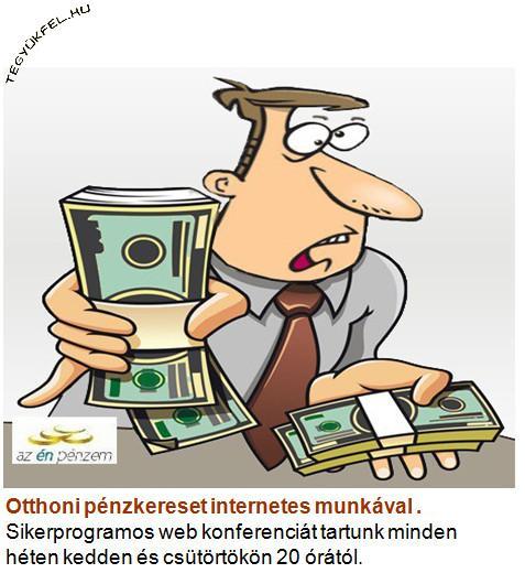 otthoni kereset az interneten keresztül)