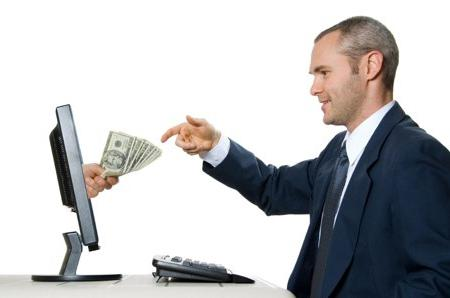 pénzt keresni az elektronikus pénz cseréjén)