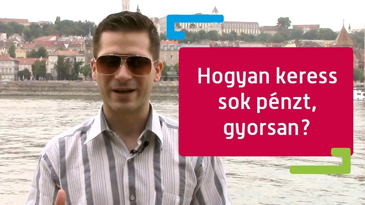 hogyan lehet gyorsan pénzt keresni a városában)
