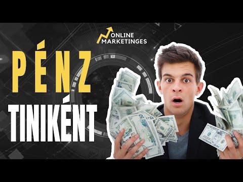 hogyan lehet gyorsan pénzt keresni 18 évesen)