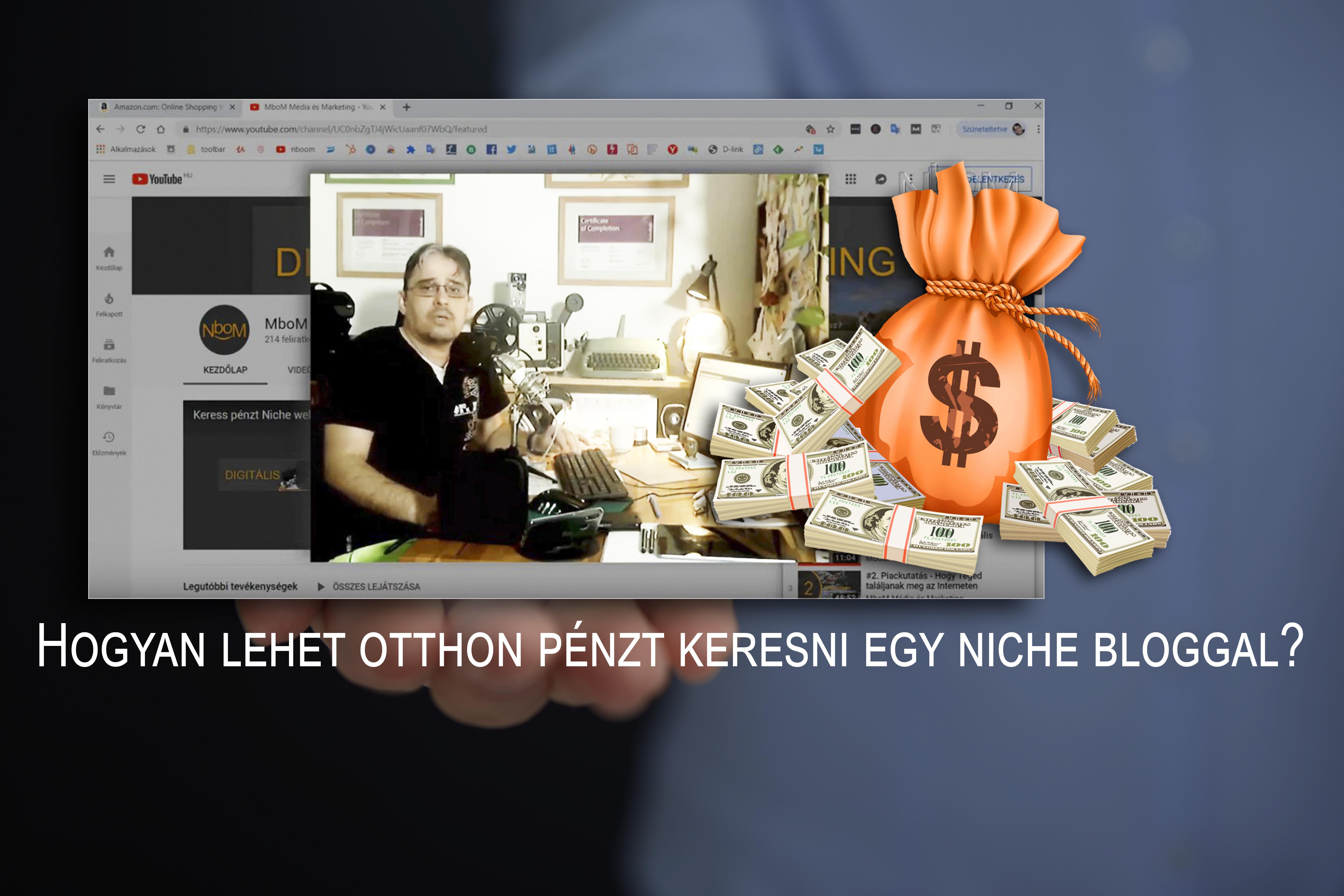 hogyan lehet pénzt keresni weboldal érdekes bevételi források az interneten