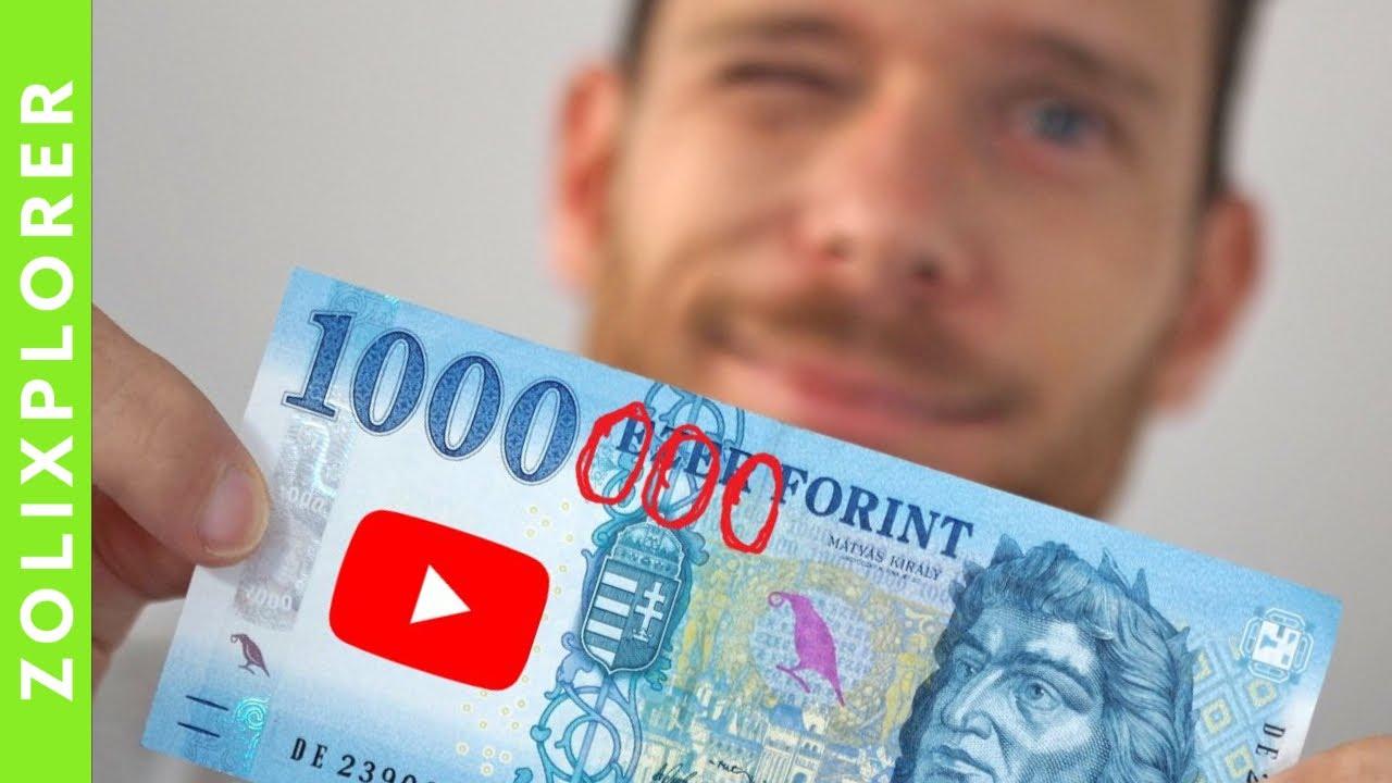 Hogyan kereshetek pénzt a YouTube-on?