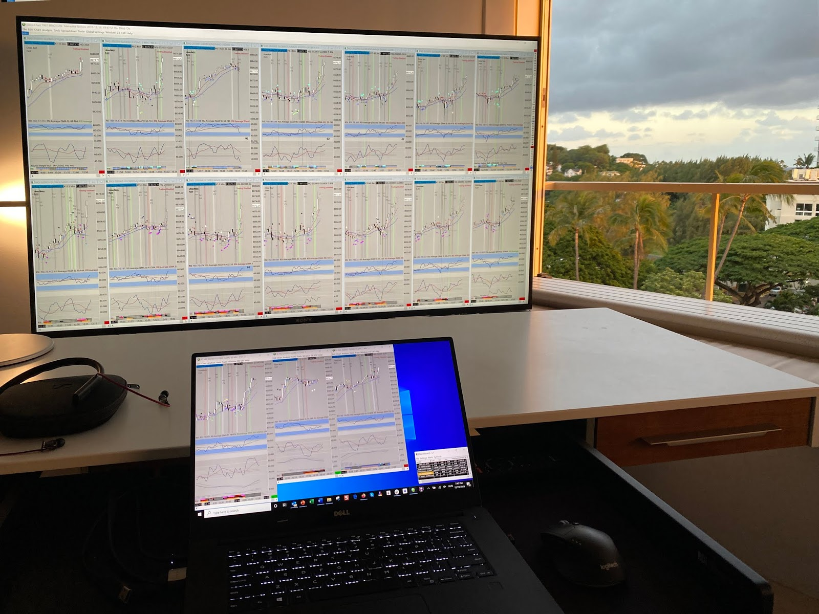 4k monitor kereskedéshez