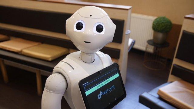 robotok kereskedése a piacon)