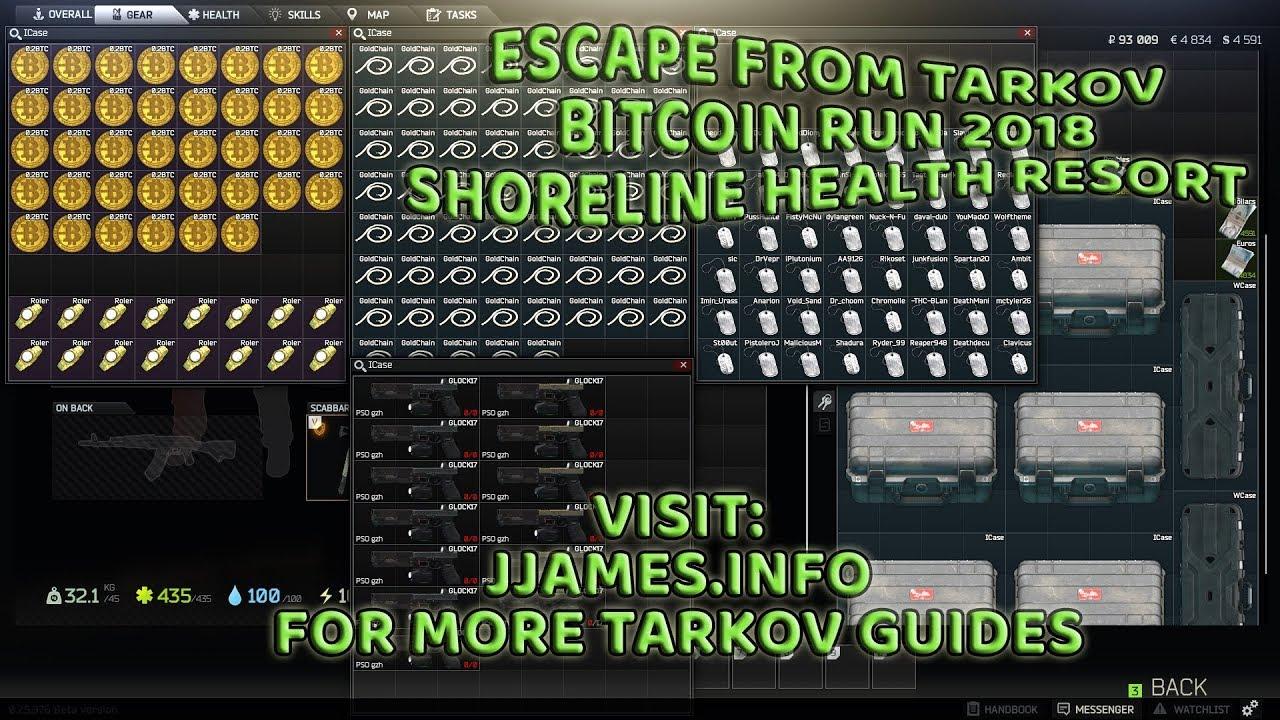 hol lehet bitcoinokat szerezni a tarkov elől menekülve