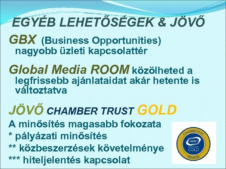 üzleti bővítési lehetőségek